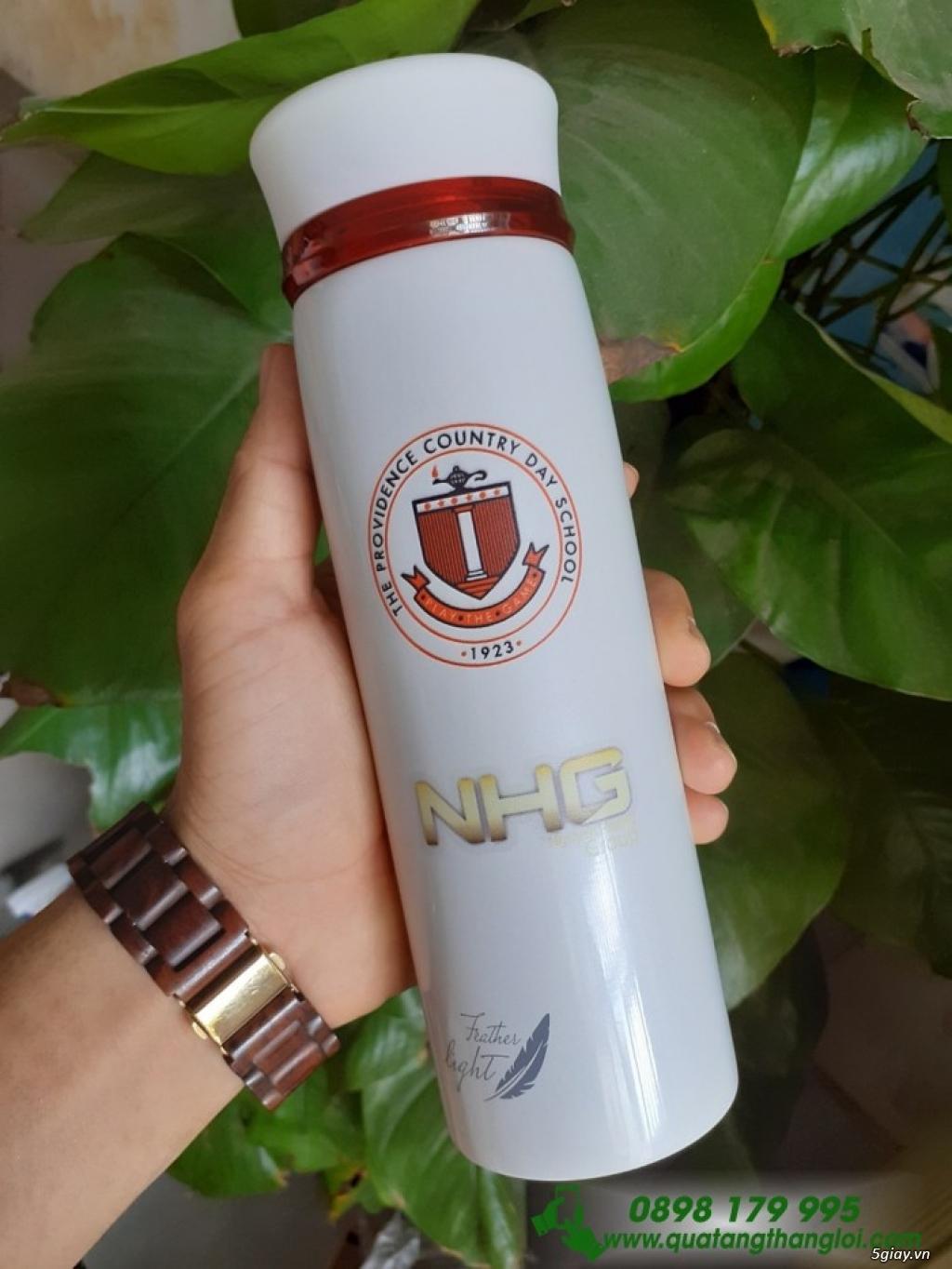 Bình Giữ Nhiệt lock & lock in khắc logo giá rẻ quà tặng - 2