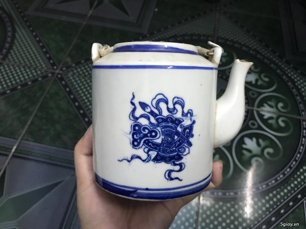 Đồ cũ Sài Gòn xưa - Bình trà sành ET 23h00 23/09/20 - 2