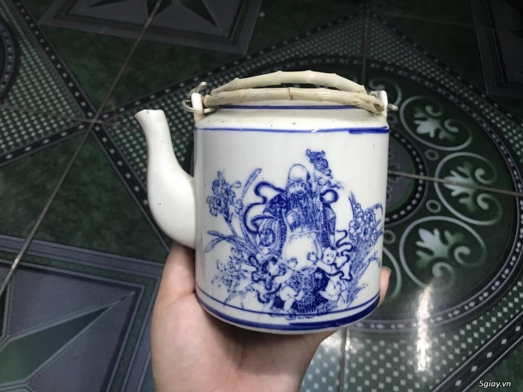 Đồ cũ Sài Gòn xưa - Bình trà sành ET 23h00 23/09/20 - 1