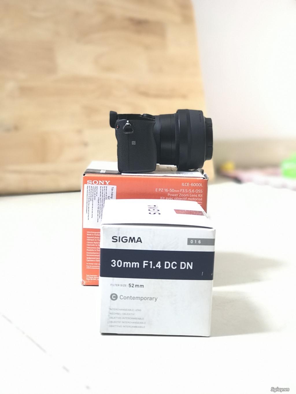 Sony alpha A6000+sigma 30F1.4