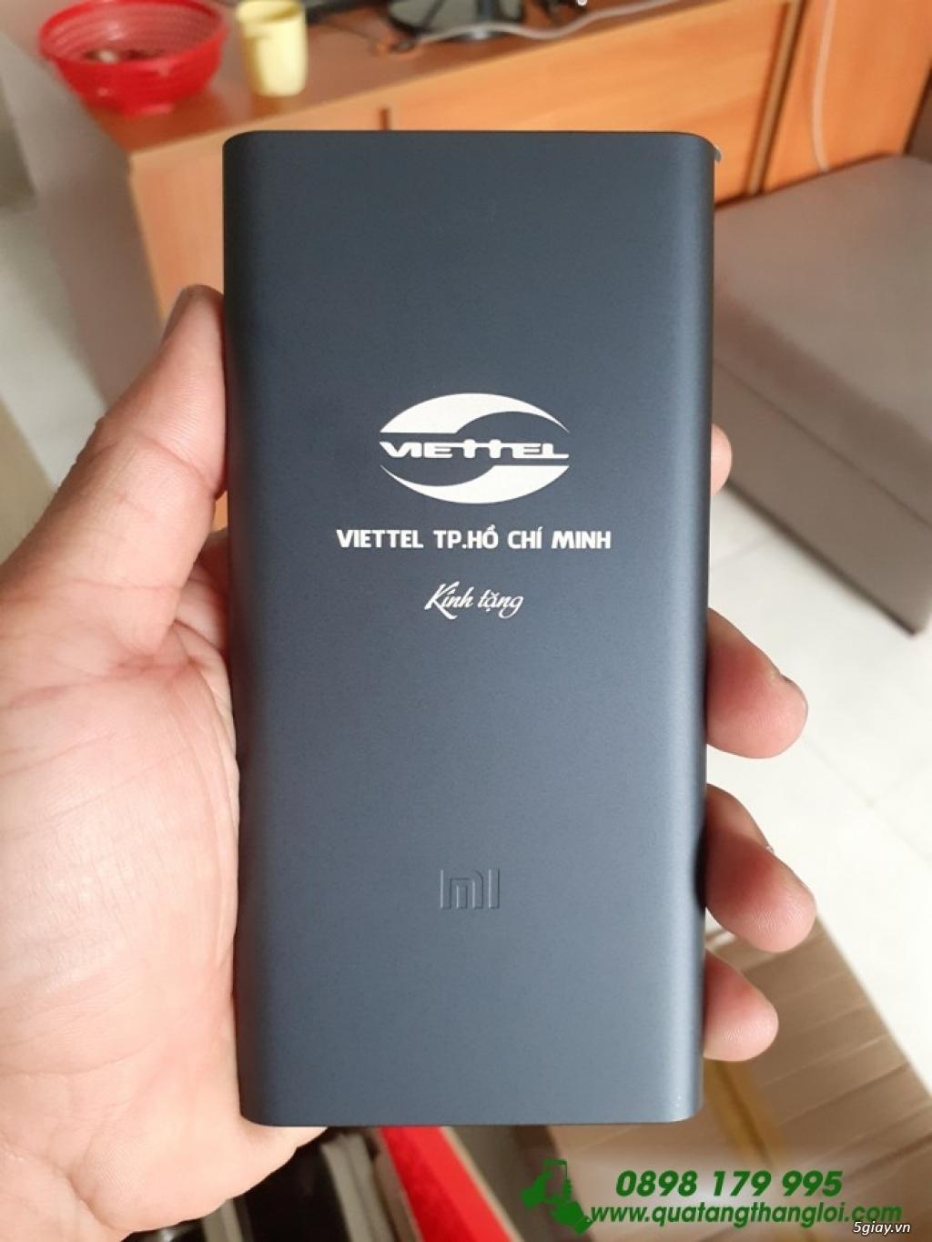 Pin Sạc Dự Phòng Xiaomi Gen3 10000mAh in khắc logo giá rẻ - 1