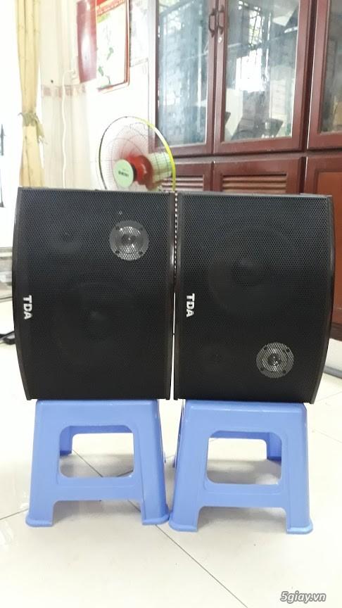 thanh lý cặp loa tiến đạt tds bas 25 cm cho anh em nghe nhạc karaok