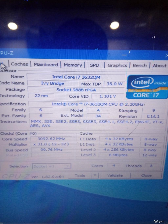 SONY SVE14AE13L  i7 3620(8 cpu)giá 2t2 - 4