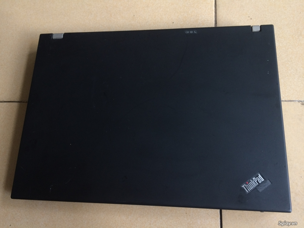 Laptop Fujitsu Core 2 Duo T8100, Ram 2Gb, Hdd 120Gb, màu đen cứng cáp - 3