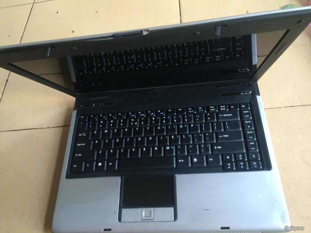Laptop Fujitsu Core 2 Duo T8100, Ram 2Gb, Hdd 120Gb, màu đen cứng cáp - 4