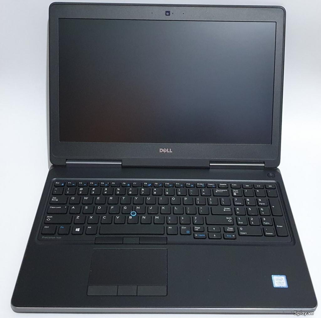 Dell Precision 7520 core I7 7700HQ Ram DDR4 16G SSD 512G Quadro M2200 - 1