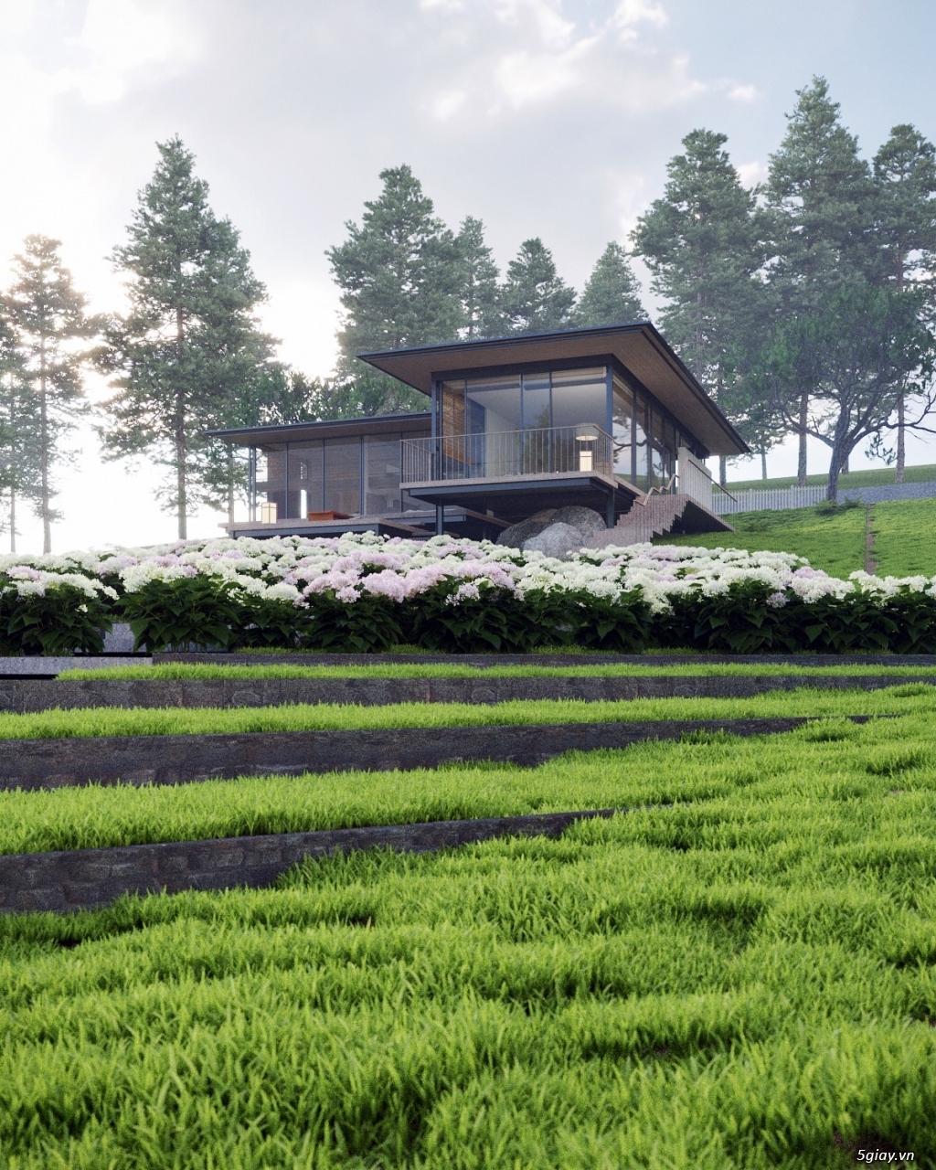 Sakura Village kiwuki 2 biệt thự Nhà vườn 300m2 thổ cư - 3