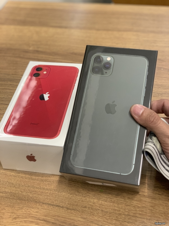 iPhone SE 2020, iPhone 11, Pro, Pro Max 64G 256G 512G đủ màu new 100%. - 2