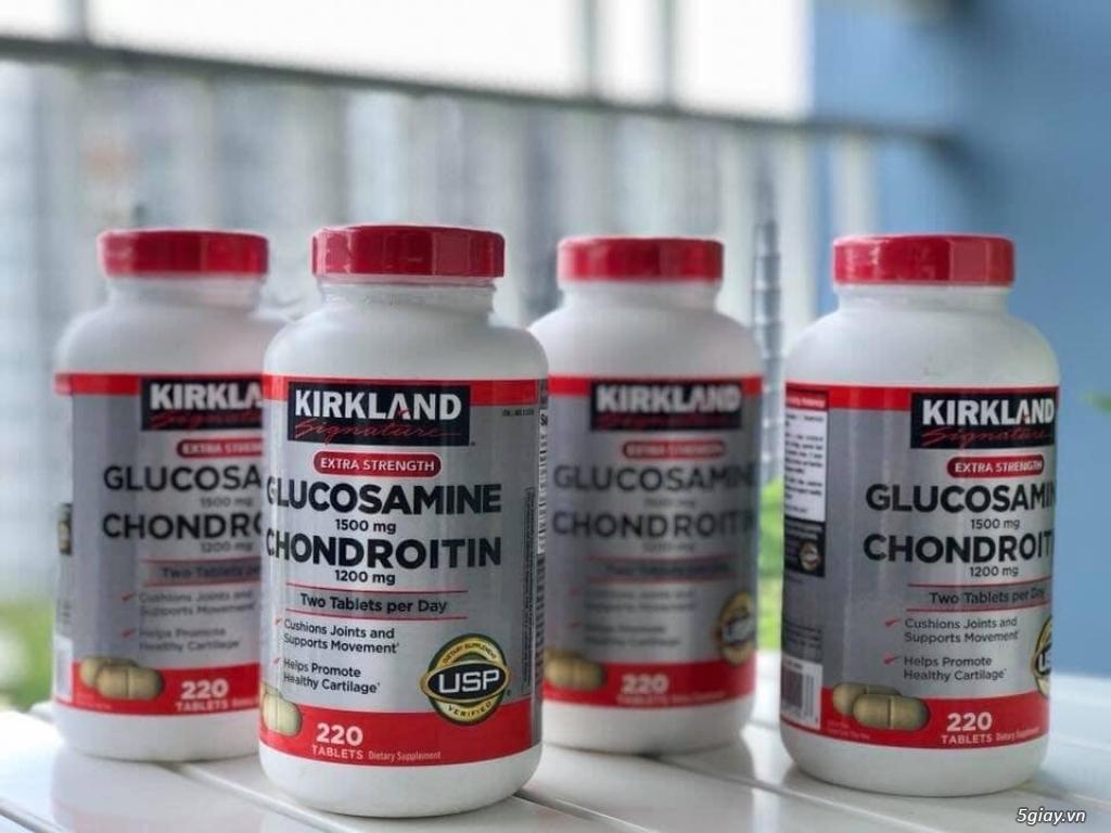 Thực phẩm chức năng hỗ trợ xưong khớp Kirkland Glucosamine HCL 1500mg - 1