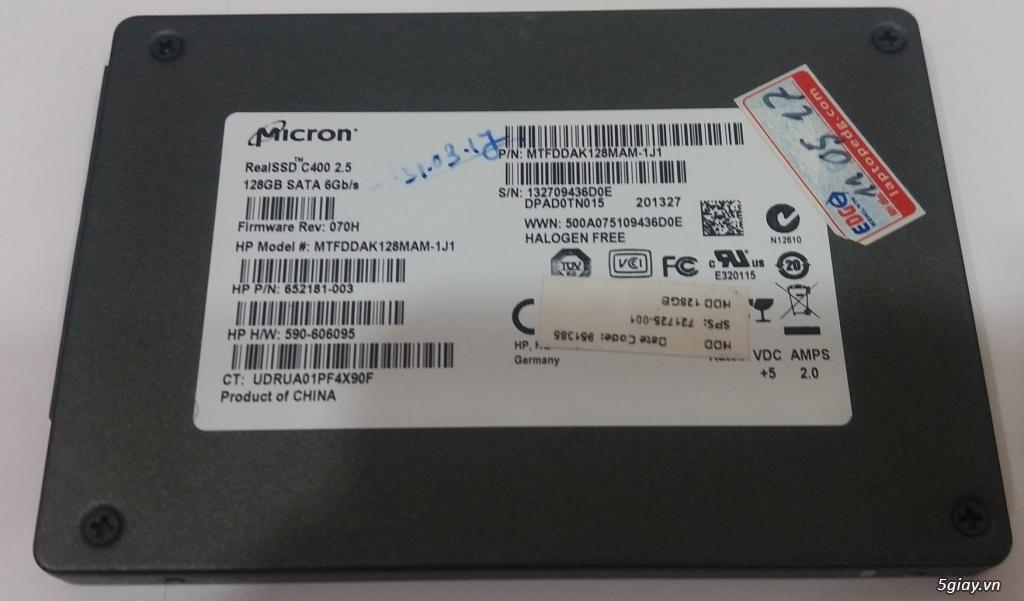 Ổ cứng SSD Micron 128G (6Gb/s) - End 22h59 ngày 23/9/2020 - 1