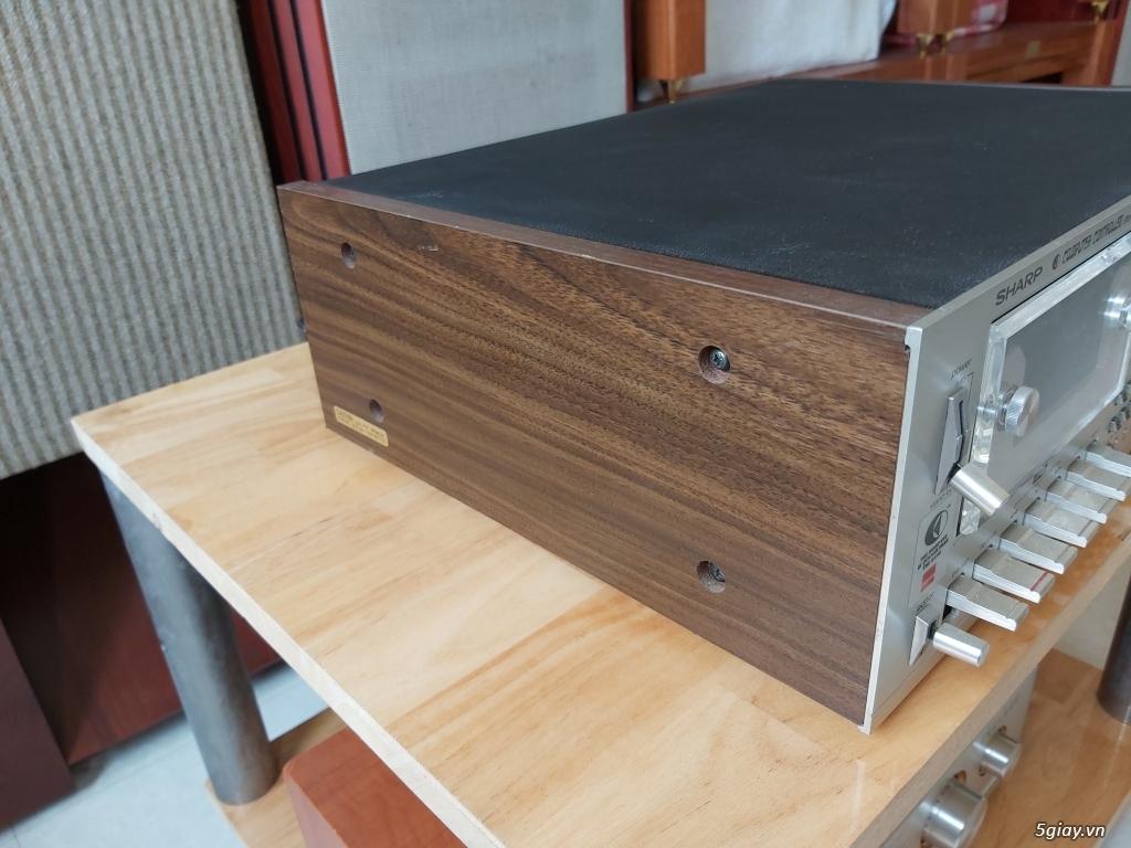 MD Sony JA50ES, Loa Wharfedale W70, Loa Infinity RS-255. - 6