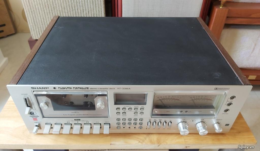 MD Sony JA50ES, Loa Wharfedale W70, Loa Infinity RS-255. - 4