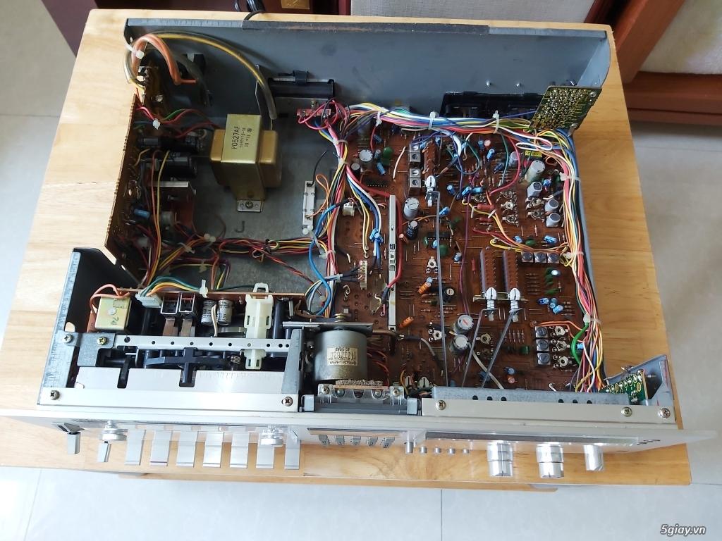 MD Sony JA50ES, Loa Wharfedale W70, Loa Infinity RS-255. - 12