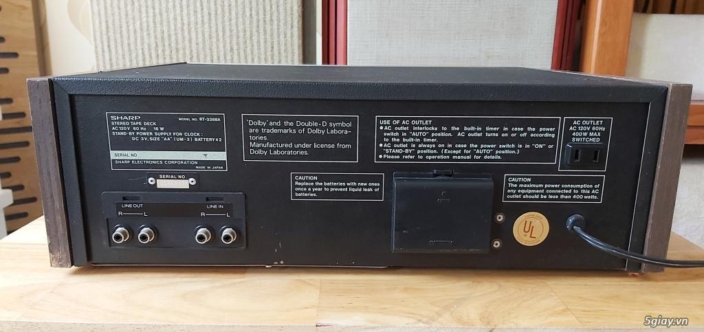 MD Sony JA50ES, Loa Wharfedale W70, Loa Infinity RS-255. - 10