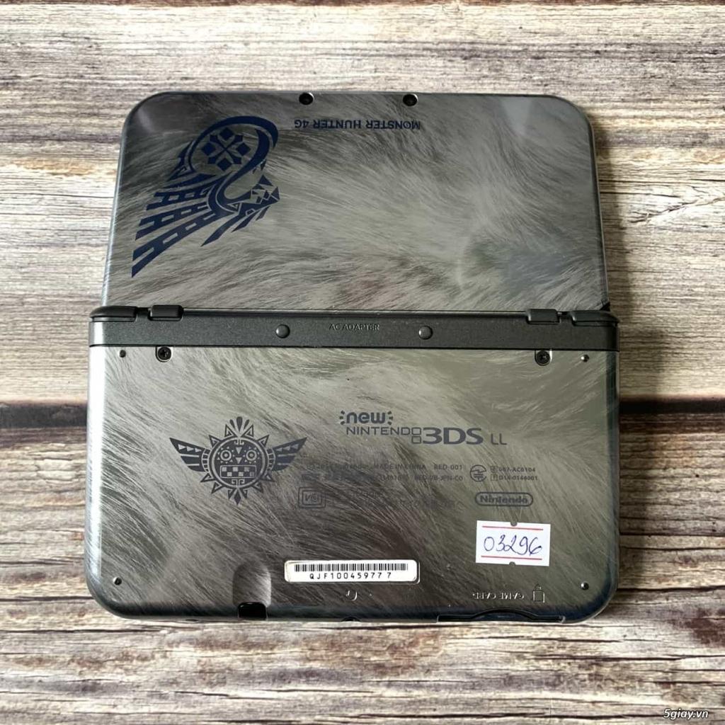 [Máy Nhật Cũ] Máy Chơi Game New Nintendo 3DS LL Monster Hunter - 1
