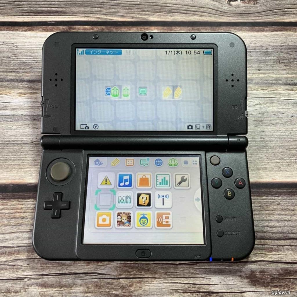[Máy Nhật Cũ] Máy Chơi Game New Nintendo 3DS LL Monster Hunter