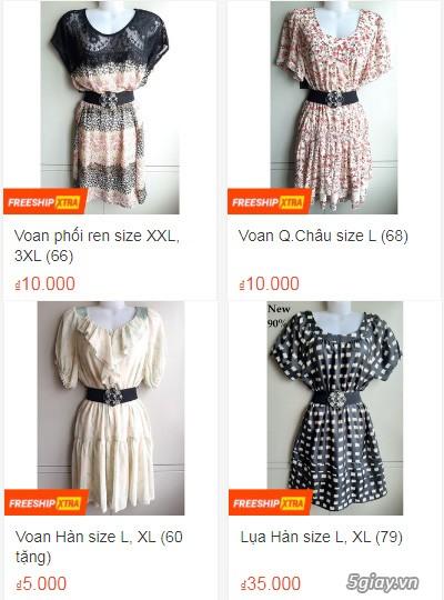 Xả hàng siêu rẻ quần áo, váy đầm, hàng mới và đã sử dụng còn đẹp - 4