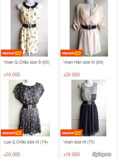 Xả hàng siêu rẻ quần áo, váy đầm, hàng mới và đã sử dụng còn đẹp - 5