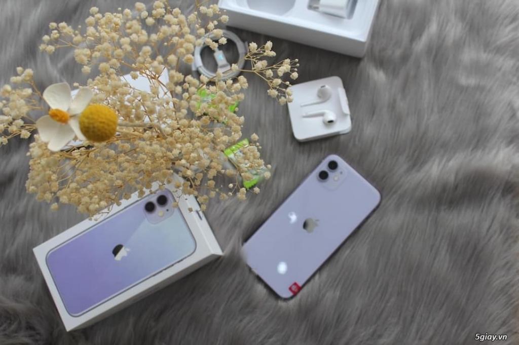 IPhone 11 64G Tím mộng mơ - 3