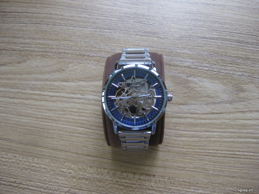 [Watch] KENNETH COLE Automatic (lộ nội tạng) / End 22h59 01/10/2020.