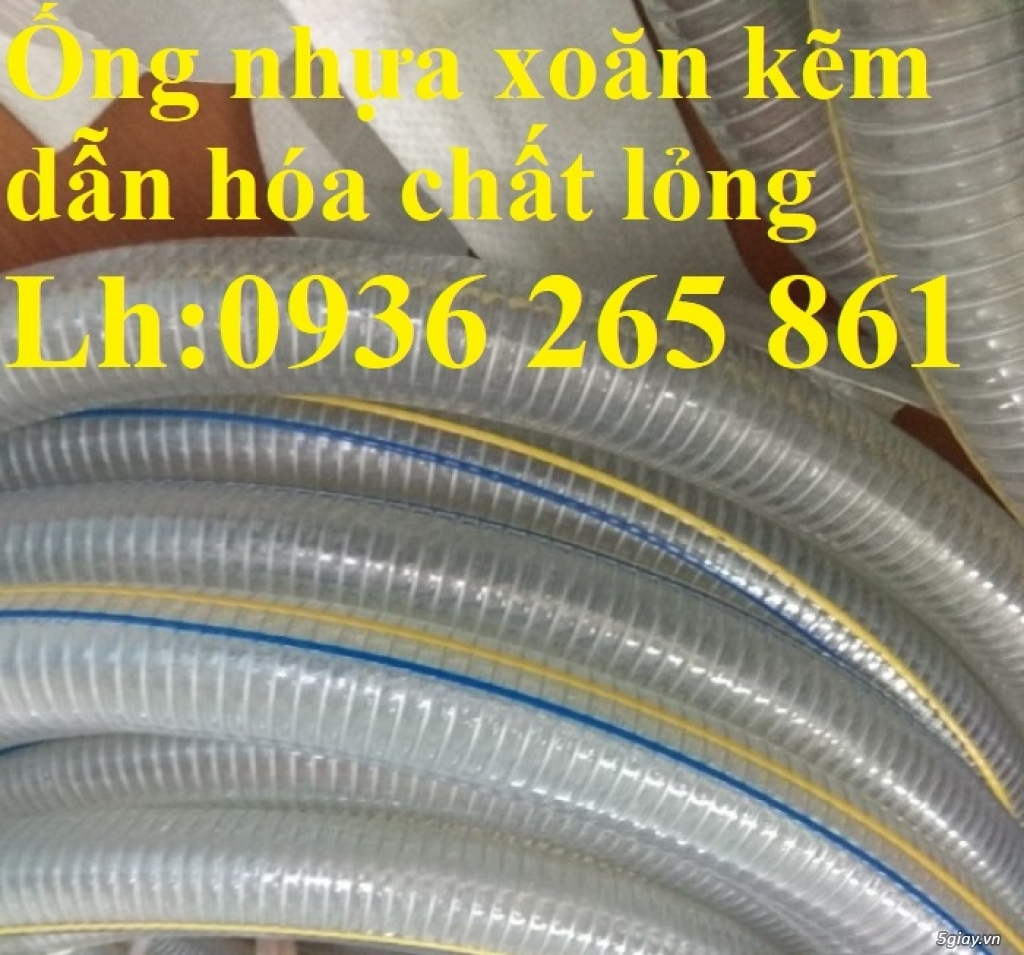 Ống nhựa PVC lõi kẽm dẫn dầu D76, D90, D100, D114, D120, D150