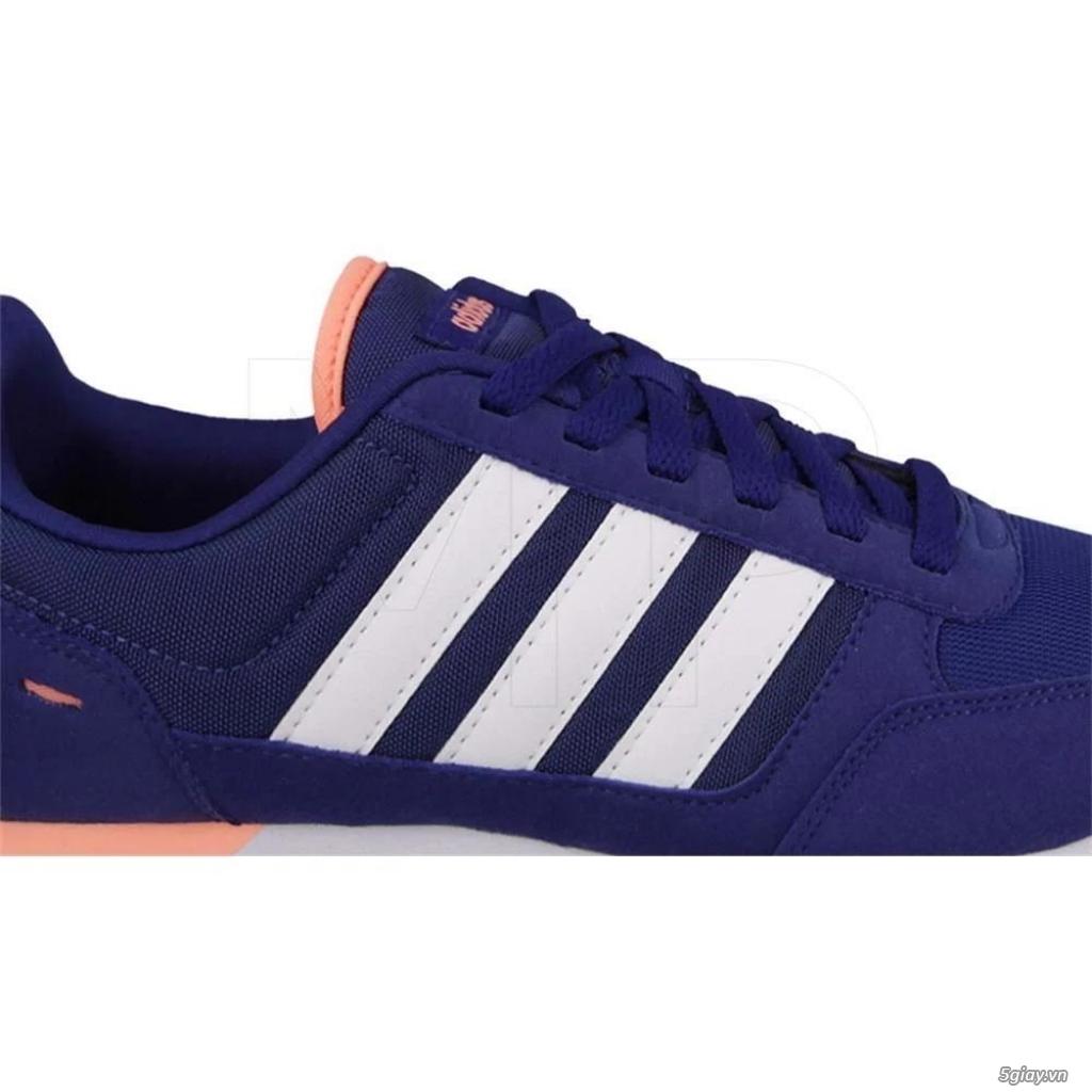 Cần bán:  Giày Adidas AW 4950 Chính hãng. Xanh Navy, soc trắng hồng - 1