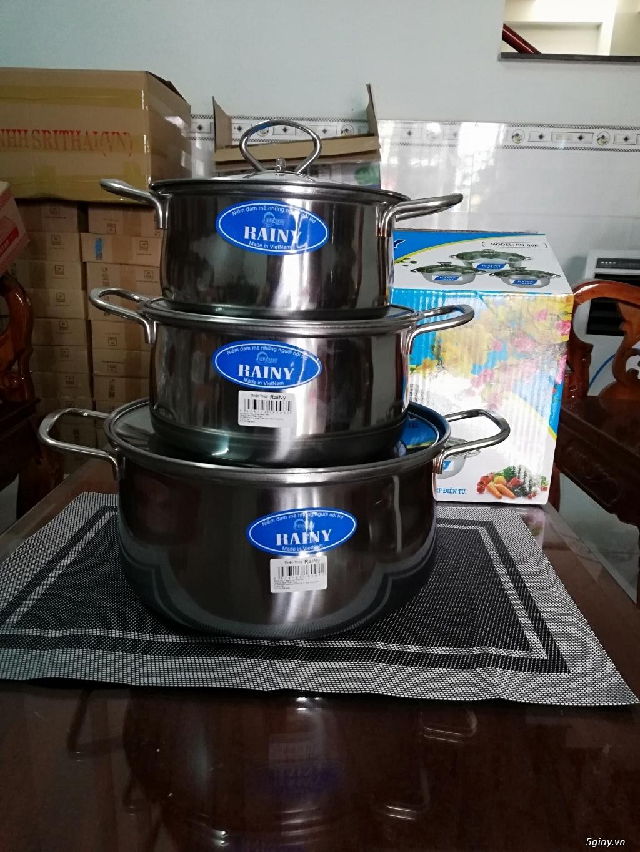 Cung cấp sỉ nồi lẩu, bếp cồn, xô đá và các loại inox gia dụng giá rẻ - 31
