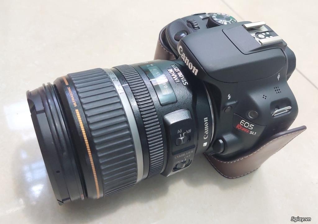 Bộ canon 100D và flash - 1