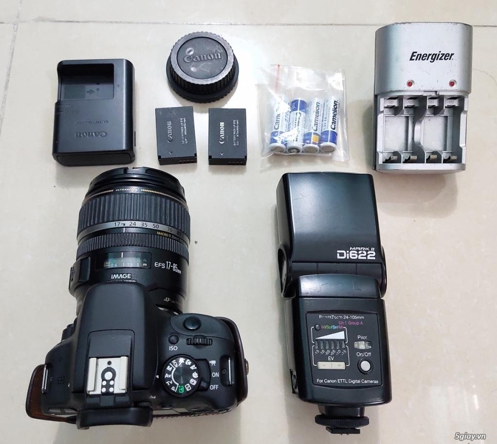 Bộ canon 100D và flash - 4