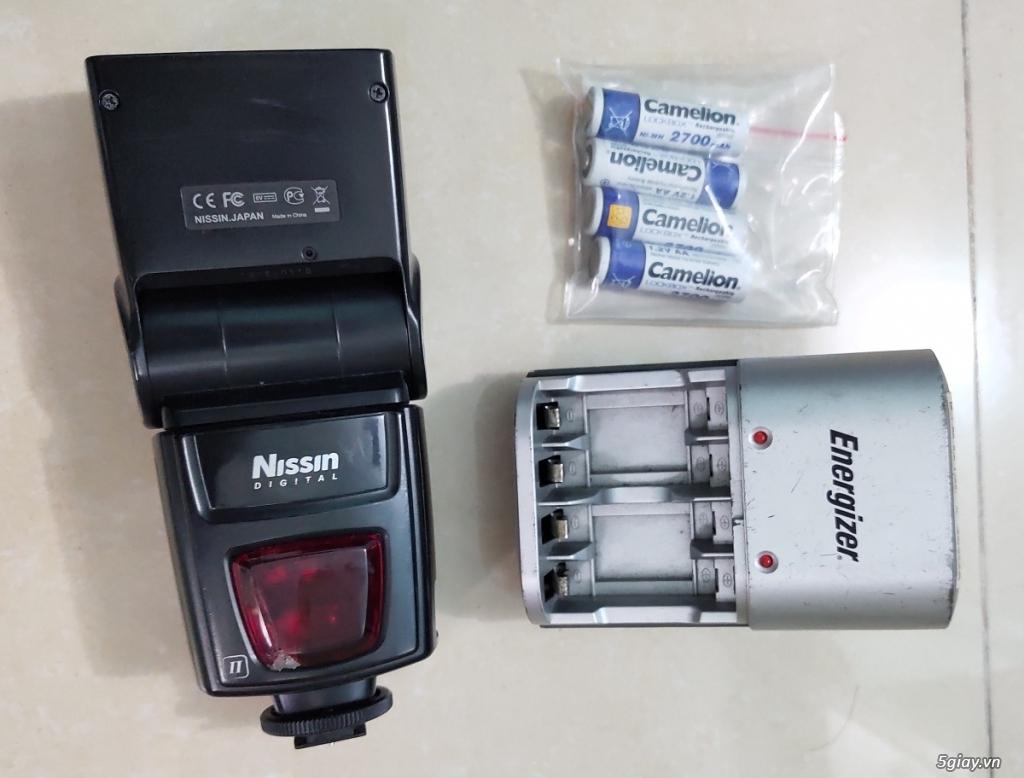 Bộ canon 100D và flash - 2