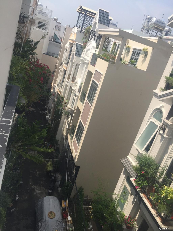 Bán nhà phố 3 lầu sân thượng hẻm xe hơi đậu phường tân quy quận 7 - 13