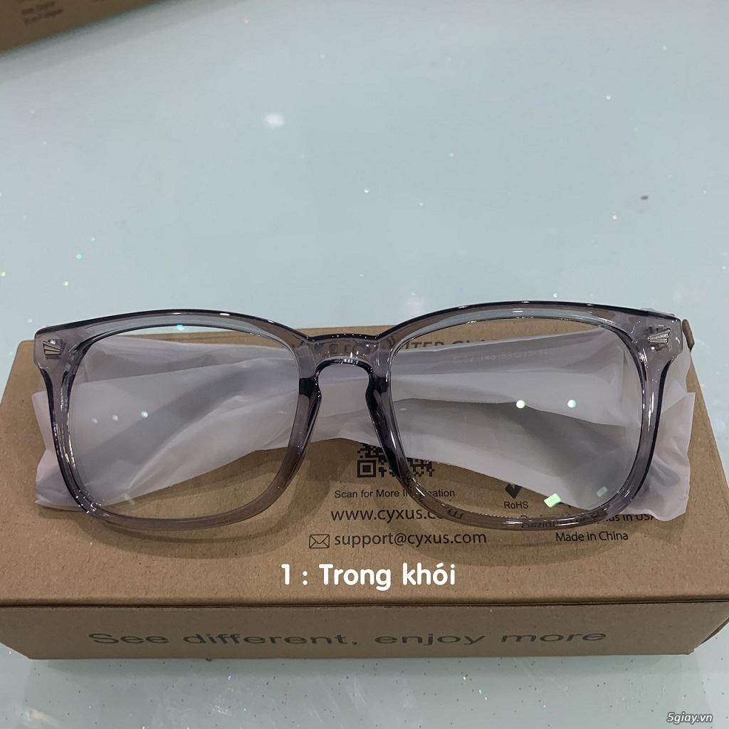 Mắt kính Cyxus USA lọc ánh sáng Xanh điện thoại , UV bảo vệ mắt. - 4