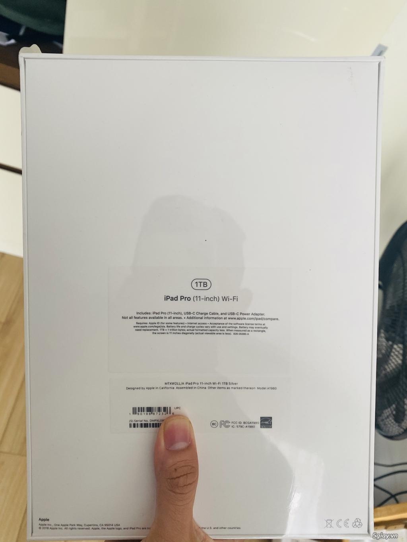 iPad Pro 11 1TB Wifi Silver 2018 New Seal - 1