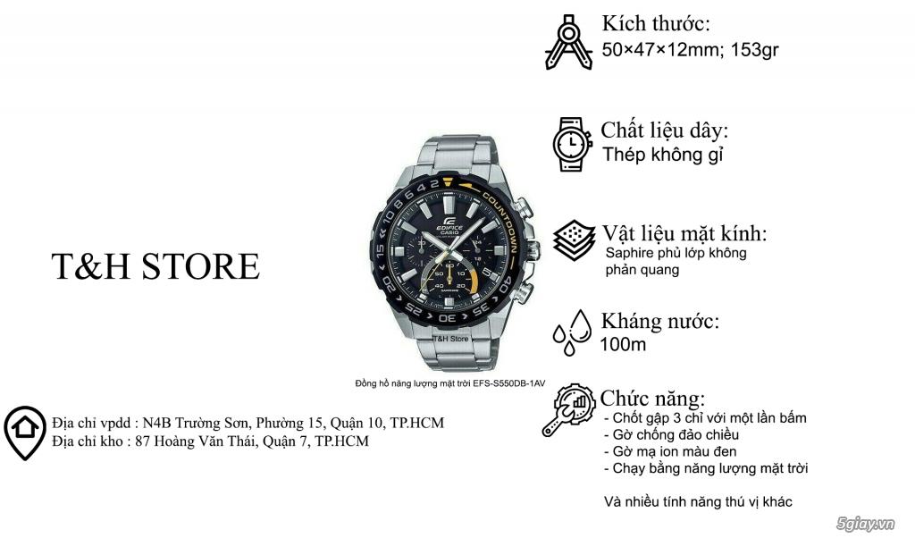 T&H Store - Chuyên đồng hồ Casio chính hãng, xách tay