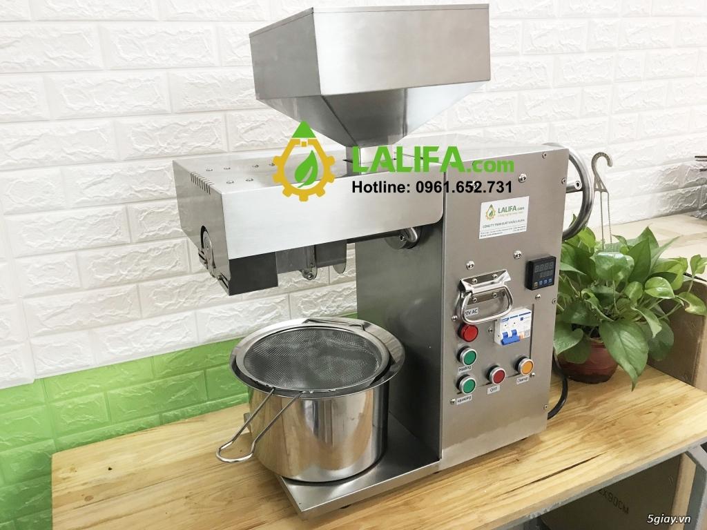 Máy ép dầu Lạc Lalifa21 10-20kg/h