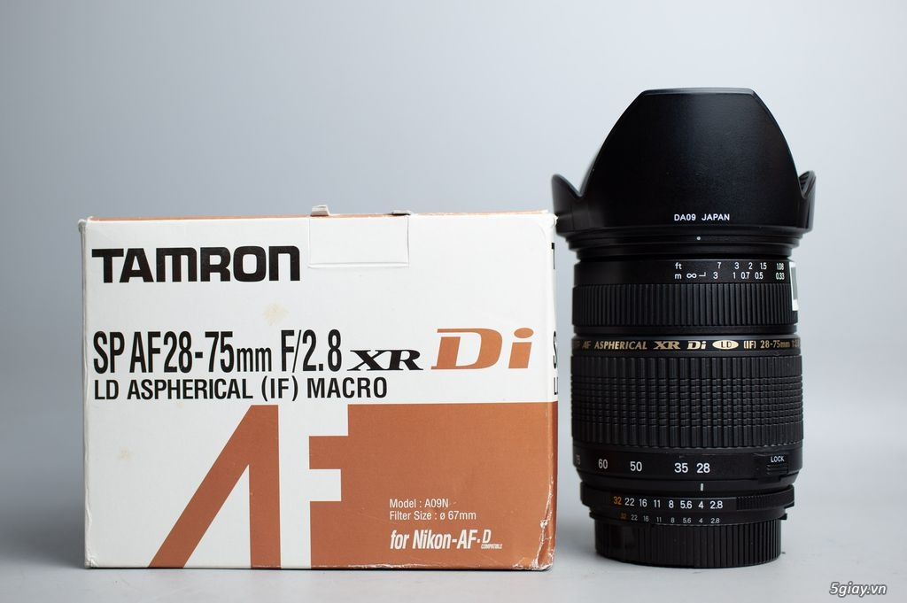 Đa dụng Tamron 28-75mm f2.8 for nikon - 2