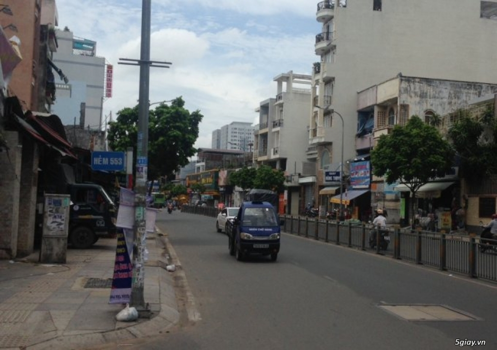 Cho thuê nhà 2 mặt tiền kinh doanh  đường Lũy Bán Bích,Tân Phú khu vực - 1
