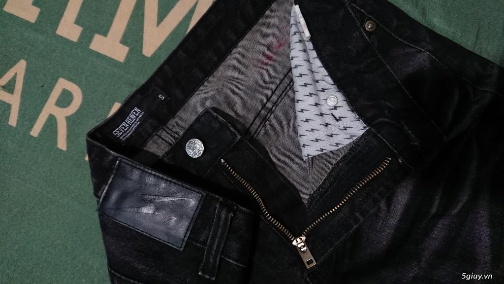 Quần Jeans SevenHeaven đen . End time 22h59(14/10/2020) - 2