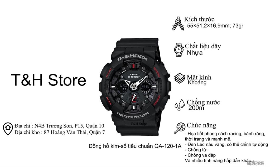 T&H Store - Chuyên đồng hồ Casio chính hãng, xách tay - 4