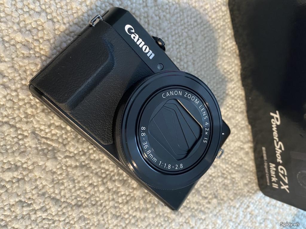 Cần Bán: Máy ảnh Canon Powershot G7X Mark ii mới 100%