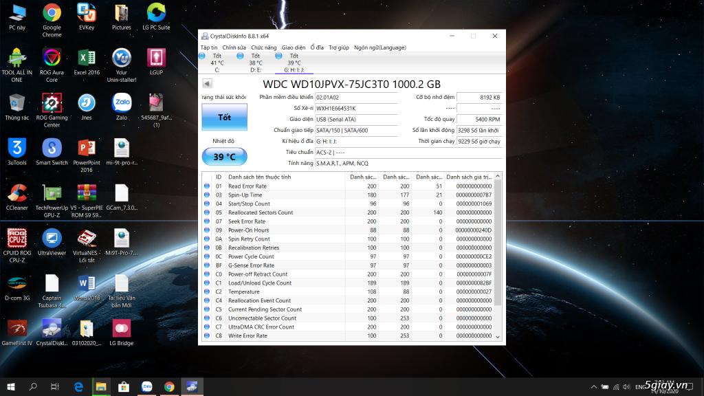 Ổ Cứng Di Động 1T - Rap Laptop - 1