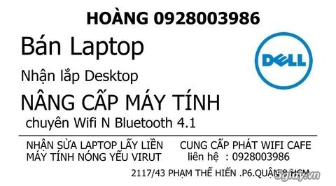 Nâng cấp Card WIFI 5Ghz cho laptop# dell HP SONY ASUS - 1