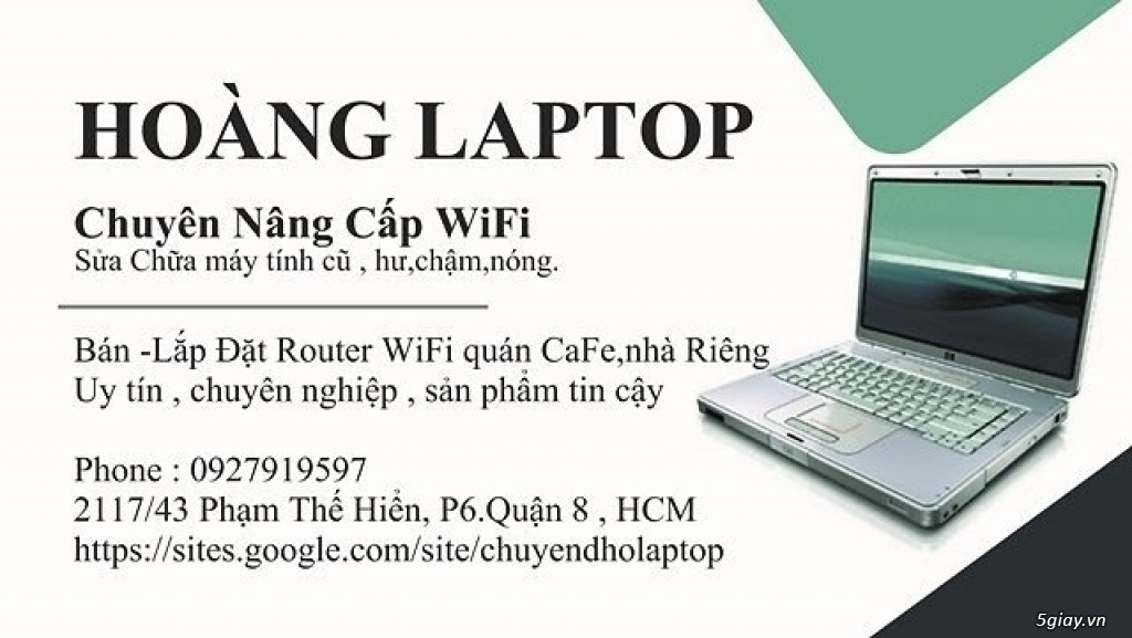Nâng cấp Card WIFI 5Ghz cho laptop# dell HP SONY ASUS - 3