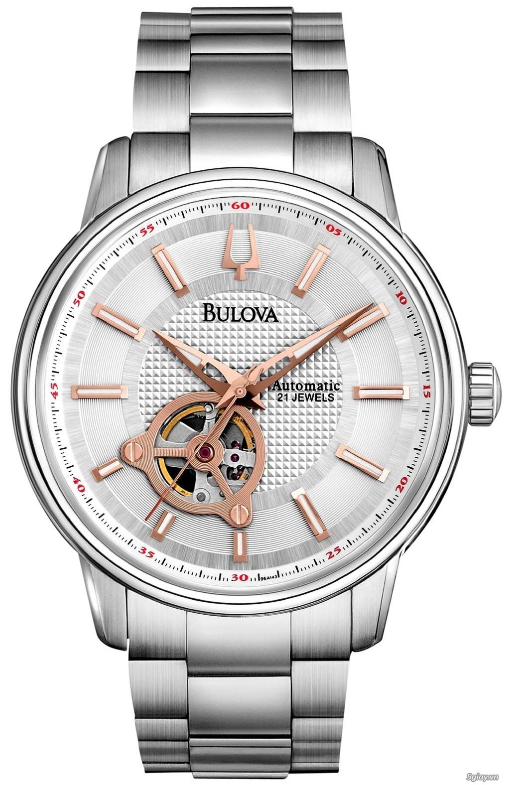 [SALE 70%] Cần bán đồng hồ BULOVA Tự động Nam chính hãng Mỹ giá Shock - 1