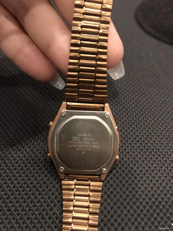 Cần bán Casio B640WC-5ADF rose gold - 3