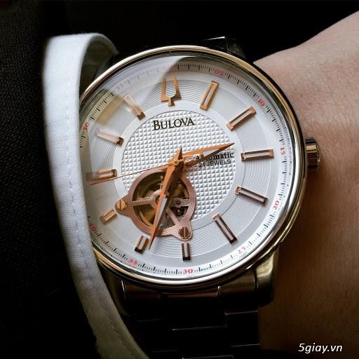 [SALE 70%] Cần bán đồng hồ BULOVA Tự động Nam chính hãng Mỹ giá Shock