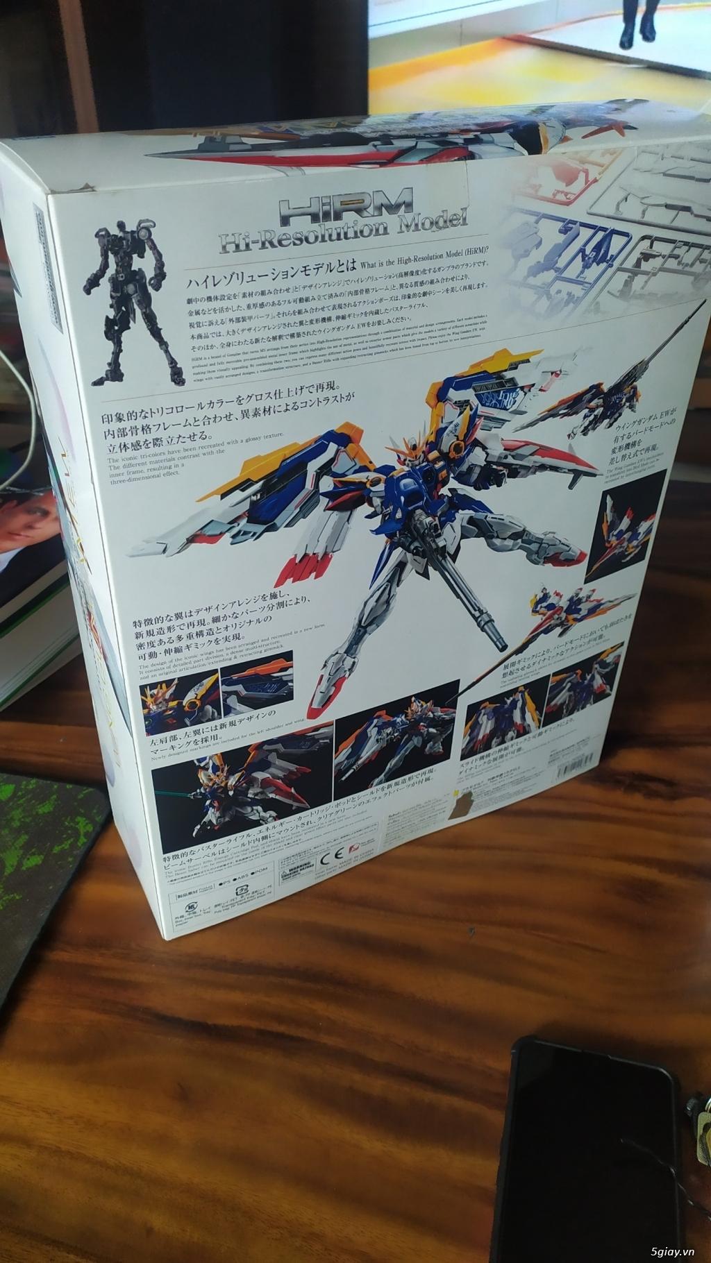 Cần Thanh lý gấp Mô Hình Gundam P-Bandai HIRM Wing Gundam EW - 2