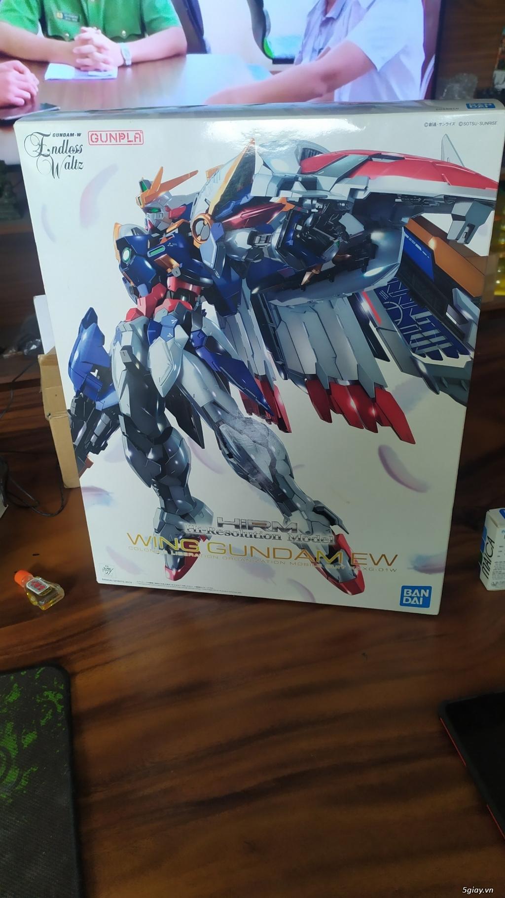 Cần Thanh lý gấp Mô Hình Gundam P-Bandai HIRM Wing Gundam EW - 1