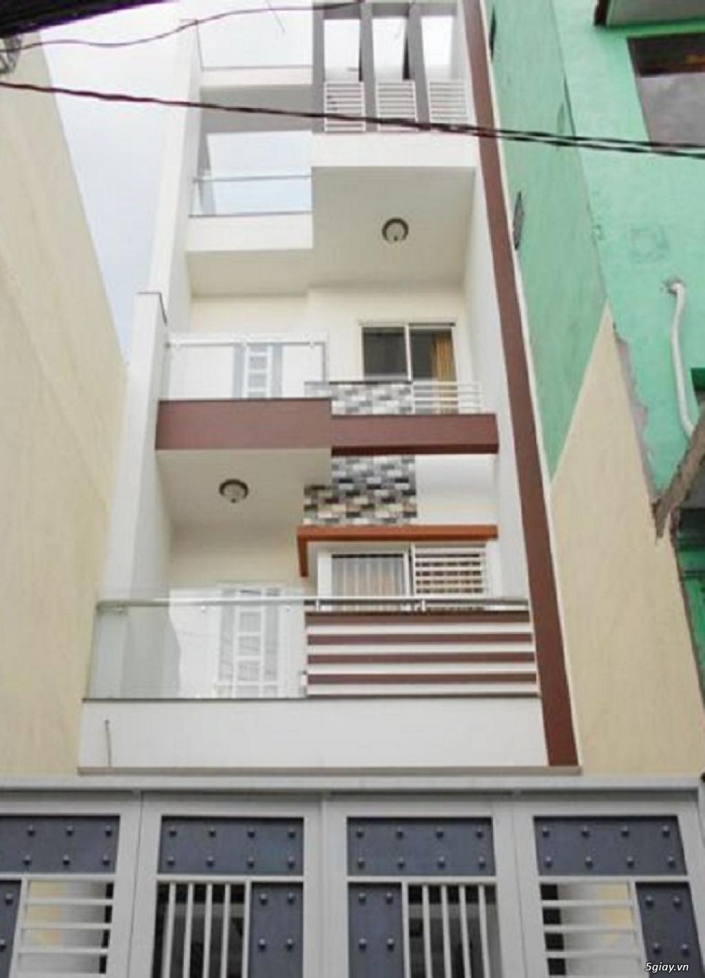 Bán nhà P5, Tân Bình, hẻm oto Cách Mạng Tháng 8, 4 tầng, 56m2 - 1