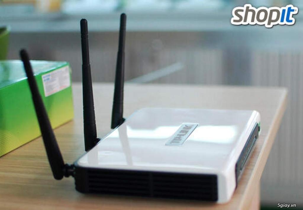 Bộ phát wifi Chịu Tải chuẩn N 300Mbps- Nhà kinh Doanh , quán Cafe dùng - 6